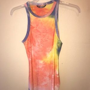 Shein tie dye dress